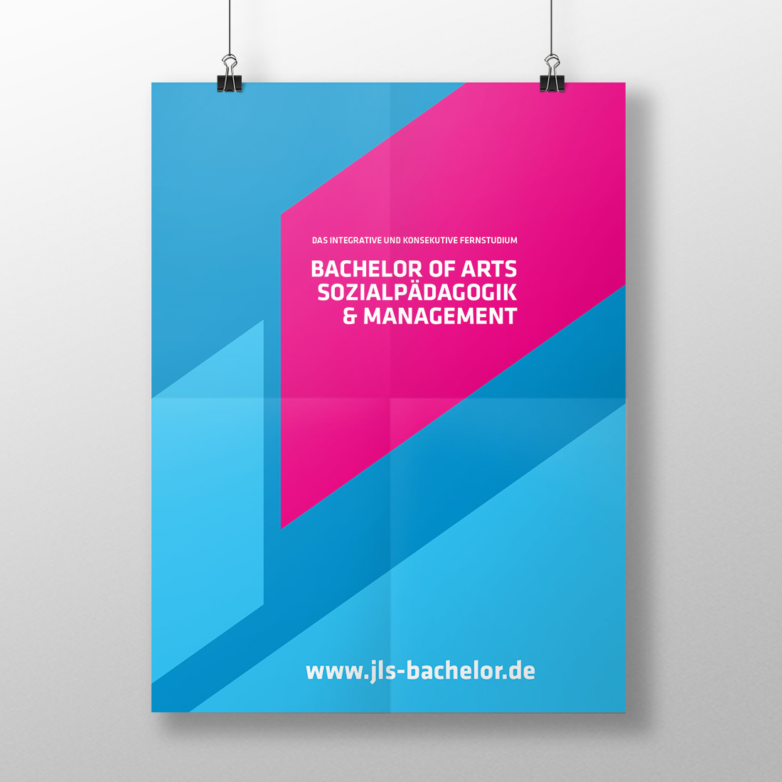 Corporate design jls b a sozialp dagogik b ro f r for Grafikdesign schule
