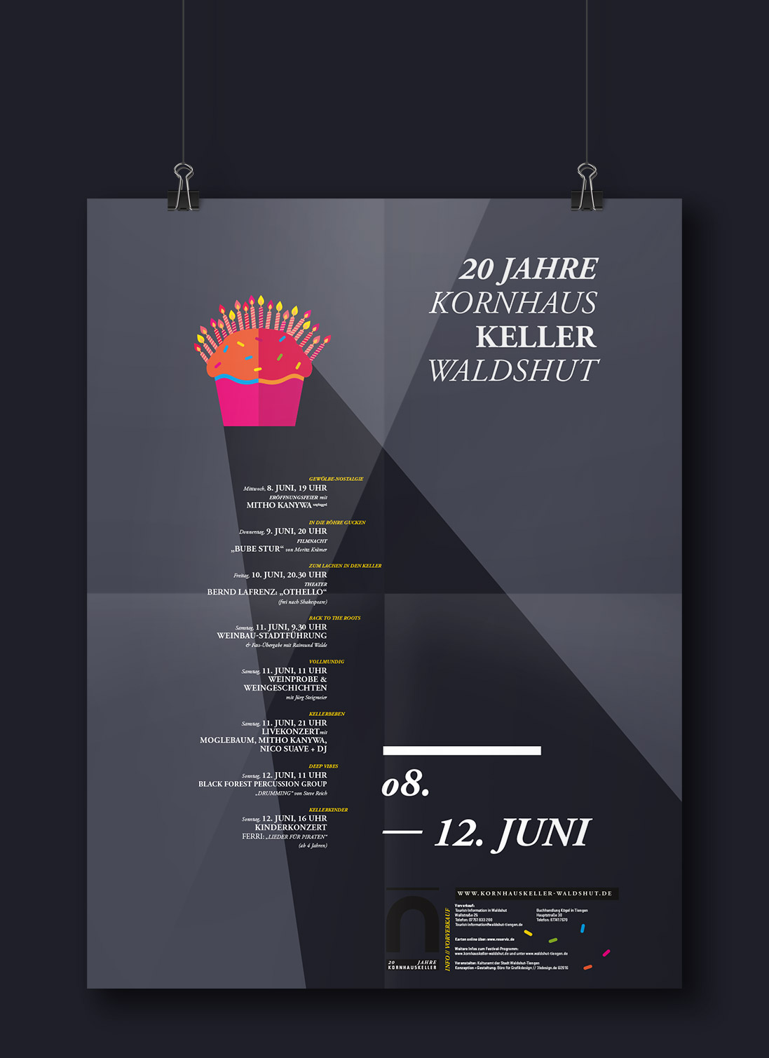 kornhauskeller waldshut 20 jahre b ro f r grafik design b konzeption gestaltung. Black Bedroom Furniture Sets. Home Design Ideas